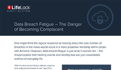 Data Breach Fatigue